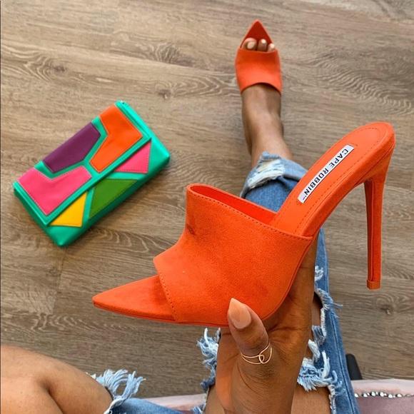 Orange Mules Boutique